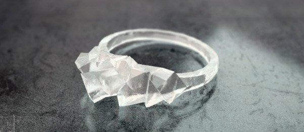 12 3D Modelling - BE Comunicazioni - preview Anello di ghiaccio