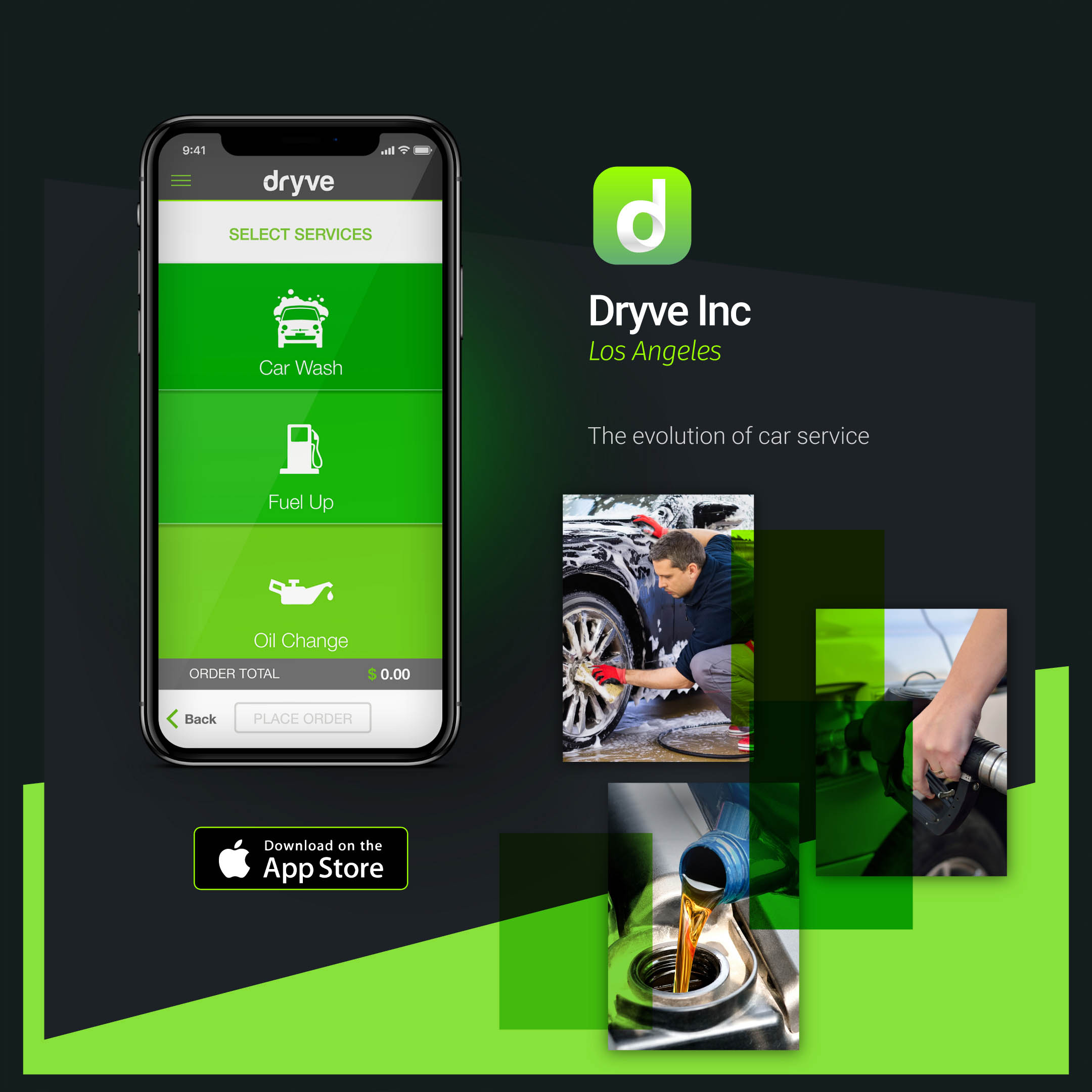 Dryve app Mockup BE Comunicazioni portfolio 01 R03