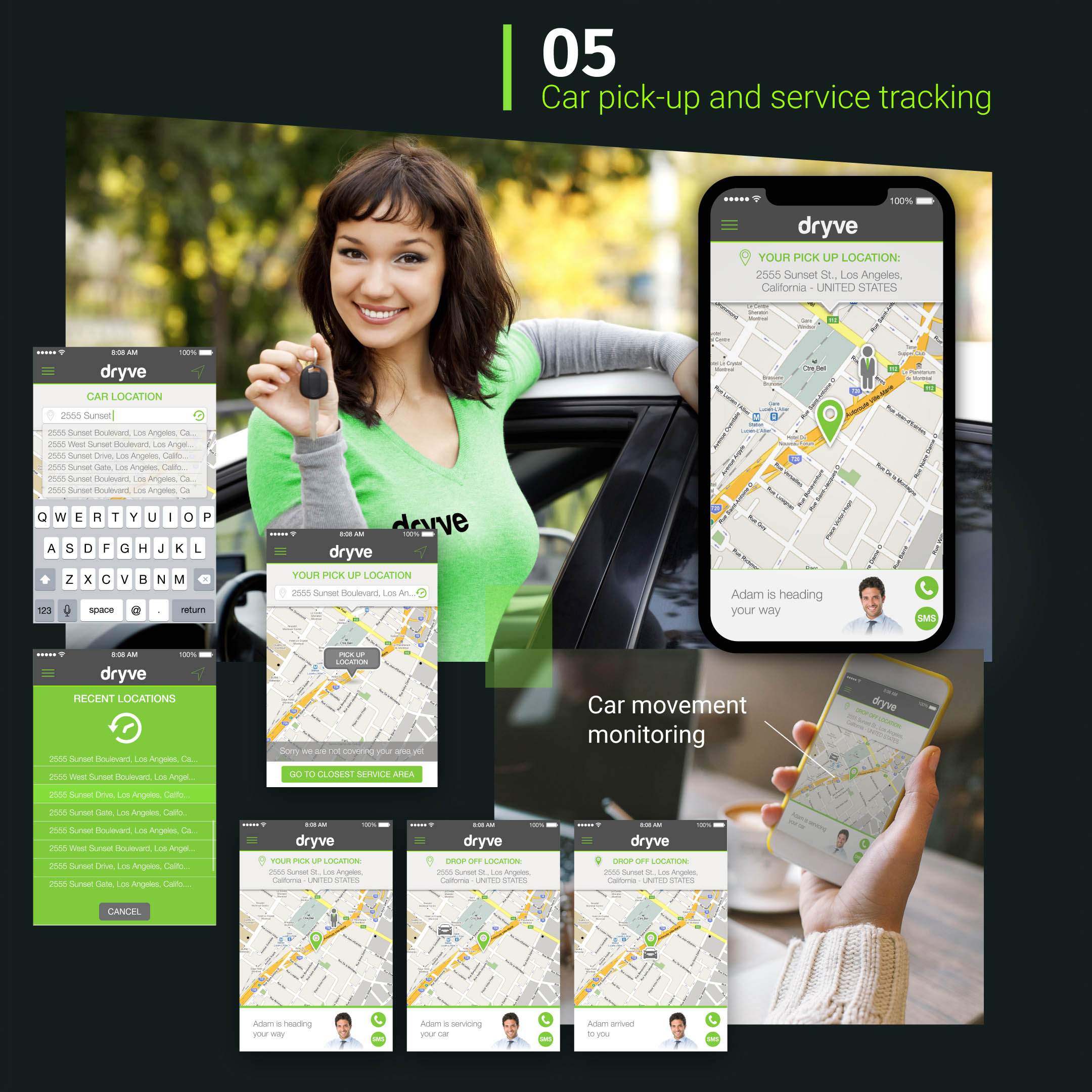 Dryve app Mockup BE Comunicazioni portfolio 05 R03