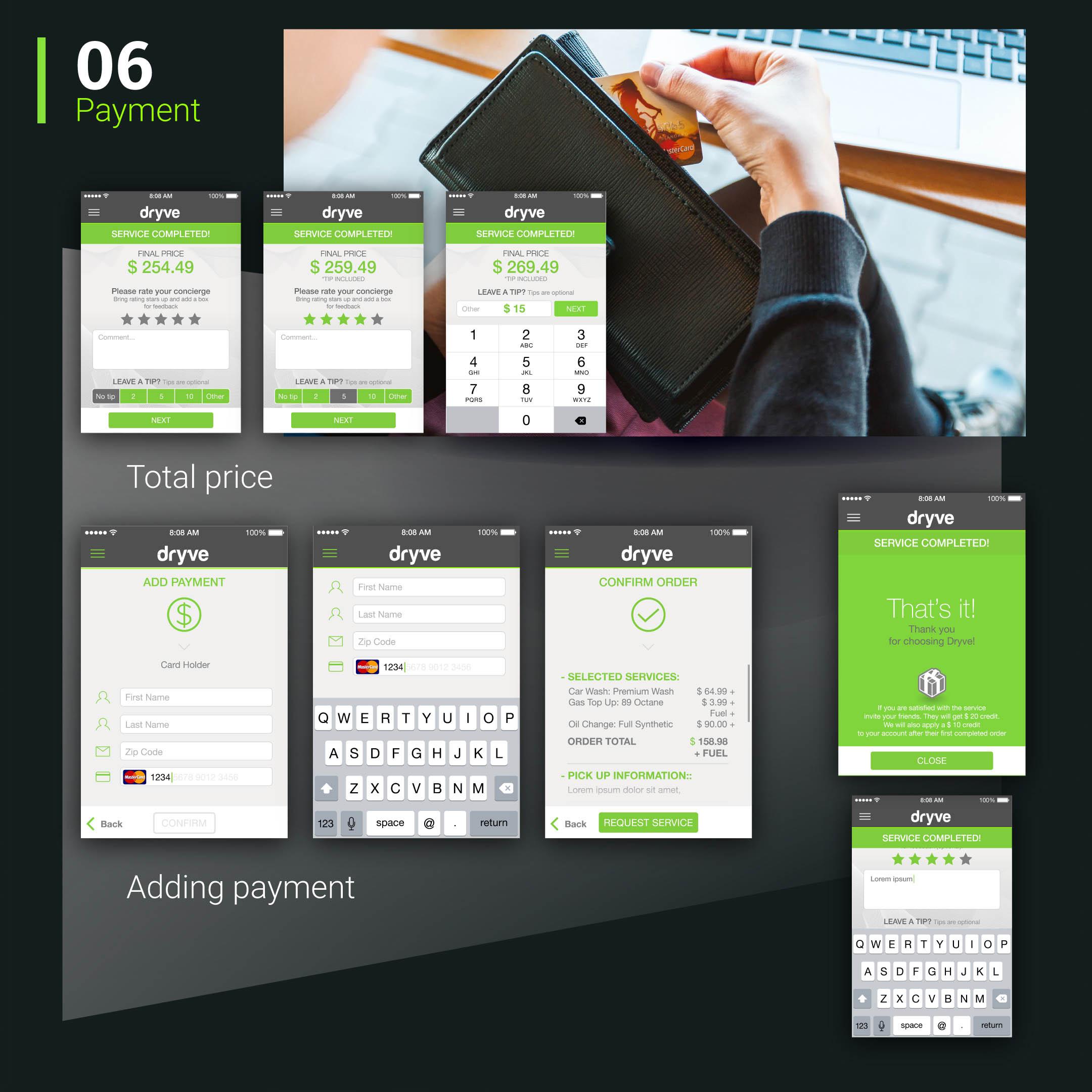 Dryve app Mockup BE Comunicazioni portfolio 06 R03
