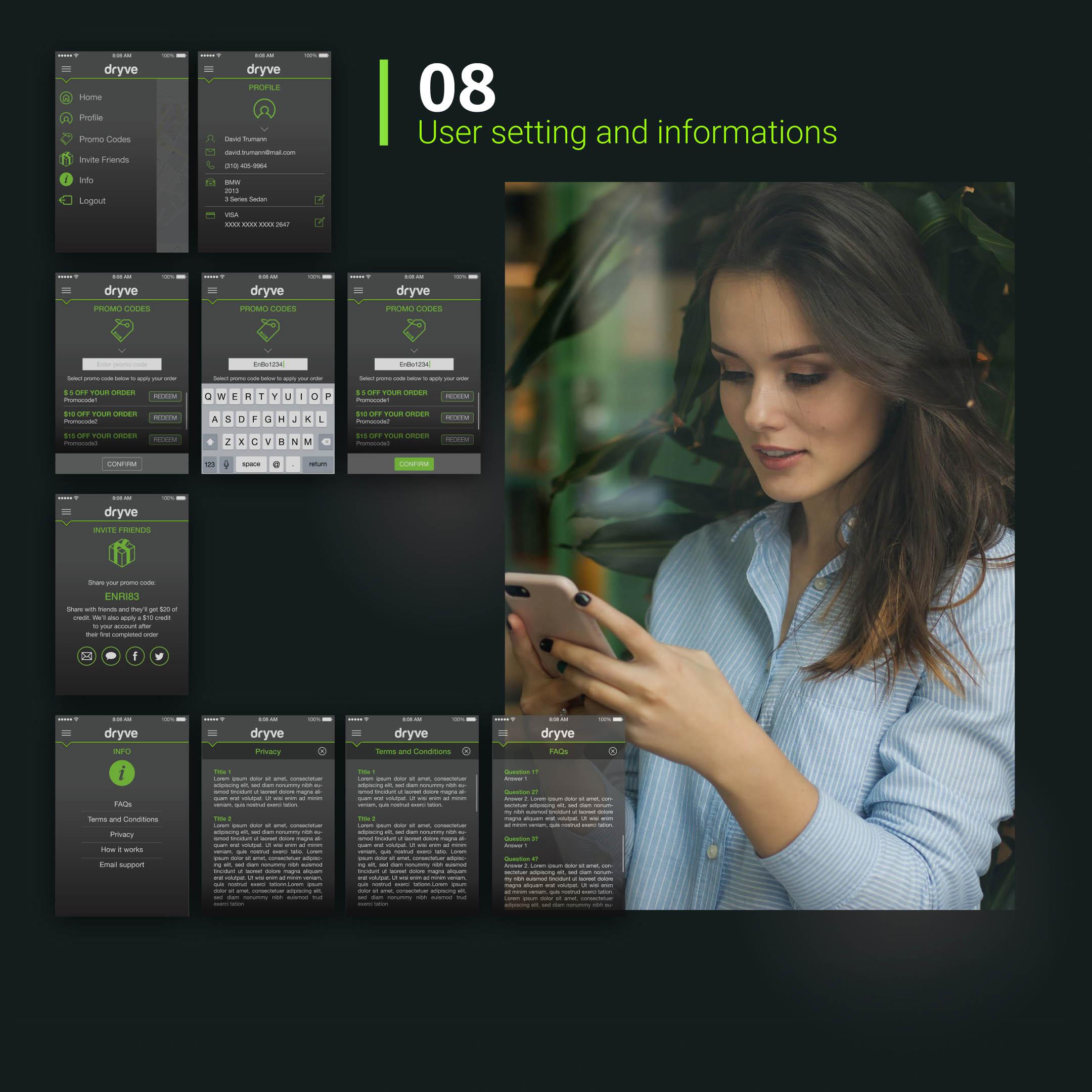 Dryve app Mockup BE Comunicazioni portfolio 08 R03