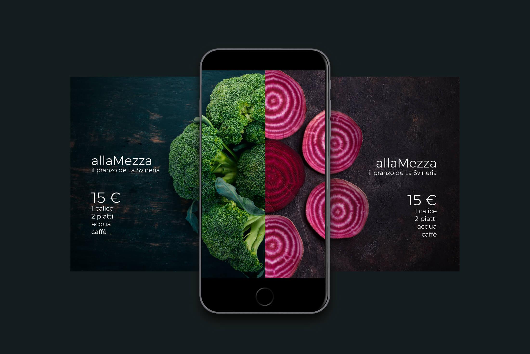 Campagna Social - allaMezza - Portfolio - Be Comunicazioni - Pubblicità e Marketing - La Svineria - Cover