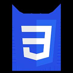 Logo CSS3 logo and wordmarks Be Comunicazioni