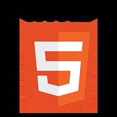 Logo HTML5 logo and wordmarks Be Comunicazioni