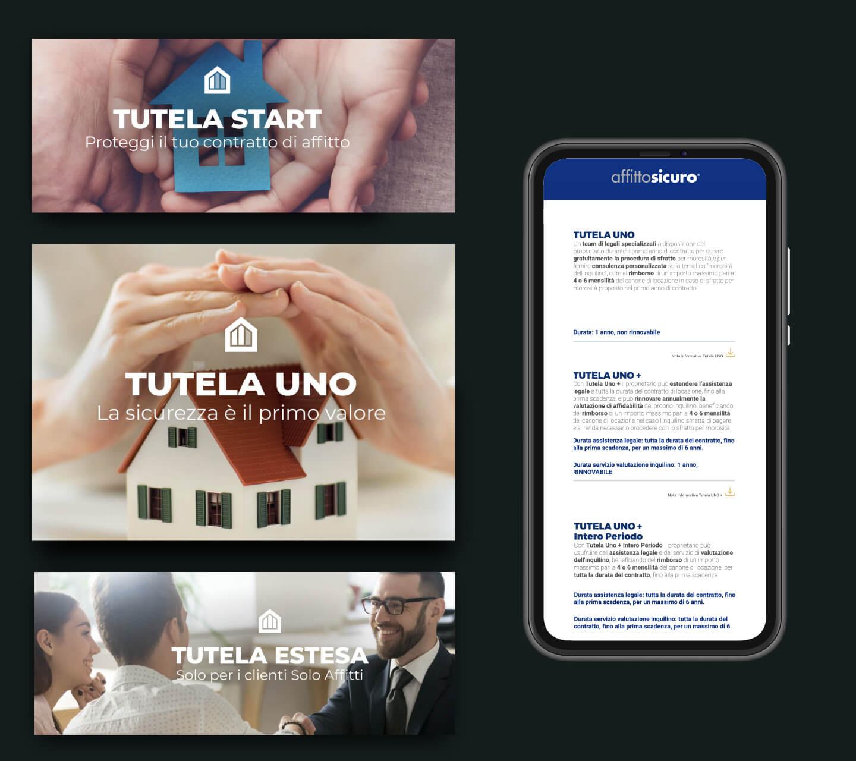 Sito web - Portfolio - Be Comunicazioni - Pubblicità e Marketing - Affitto Sicuro - SoloAffitti - slide 04