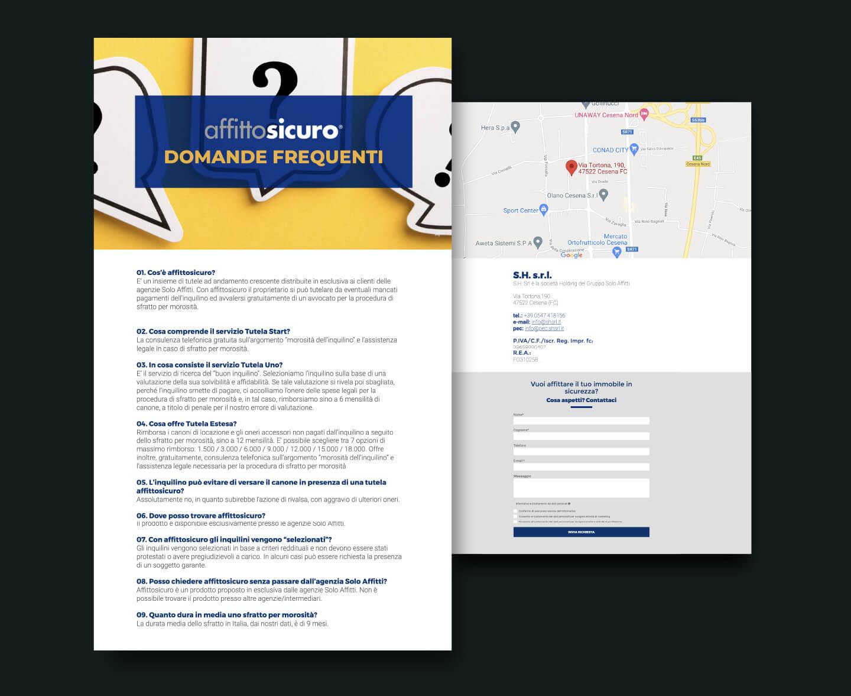 Sito web - Portfolio - Be Comunicazioni - Pubblicità e Marketing - Affitto Sicuro - SoloAffitti - slide 05