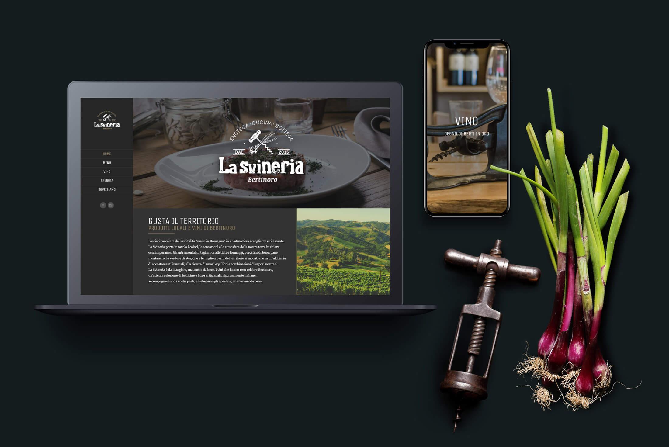 Sito web - Portfolio - Be Comunicazioni - Pubblicità e Marketing - La Svineria - Cover
