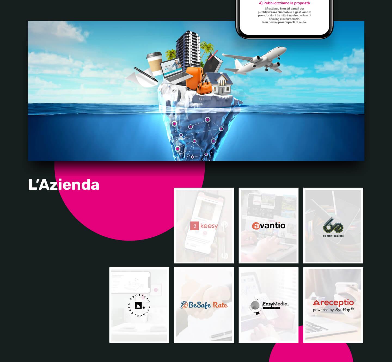 Sito web - Portfolio - Be Comunicazioni - Pubblicità e Marketing - SoloAffitti Brevi - slide 03