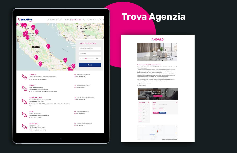 Sito web - Portfolio - Be Comunicazioni - Pubblicità e Marketing - SoloAffitti Brevi - slide 05