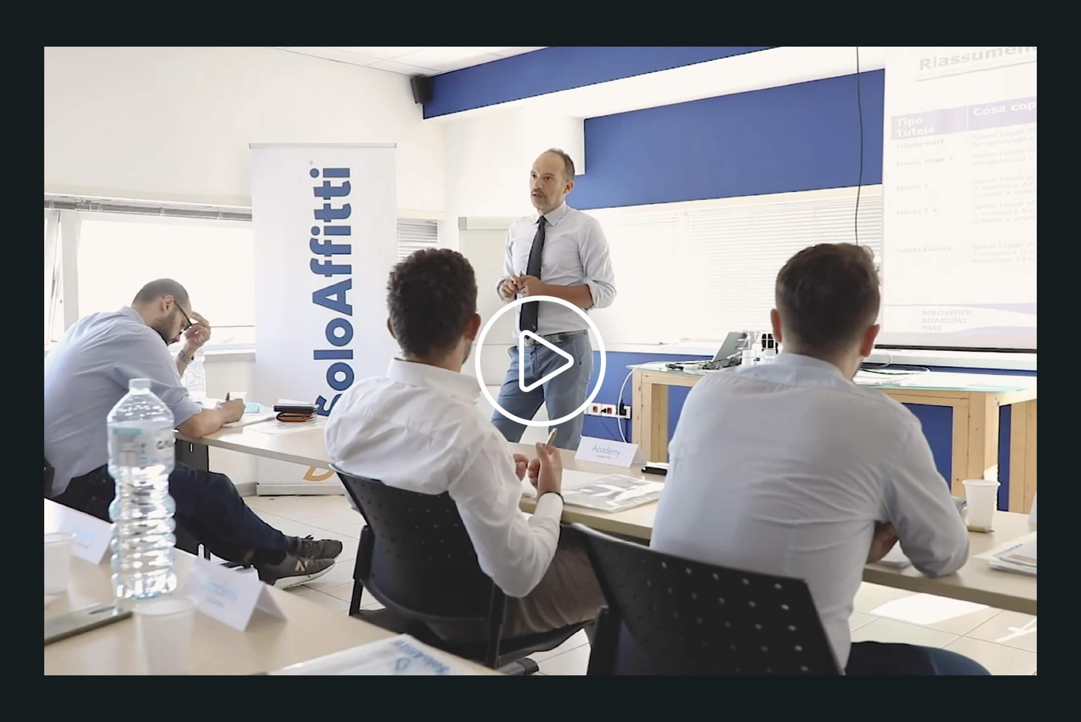 Video Servizi - Portfolio - Be Comunicazioni - Pubblicità e Marketing - SOLO AFFITTI cover